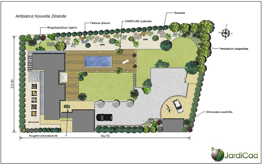 Exceptional Logiciel Amenagement Jardin Gratuit Tout Etude De Jardin Avec Abel Paysages    Étude Et Plan De